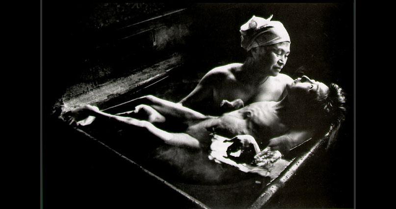 W. Eugene Smith, Tomoko Uemura in Her Bath
