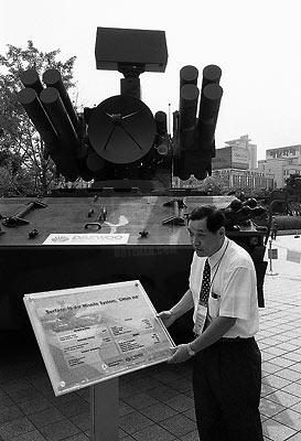Missile Salesman, Seoul (C) 2003 K. Bjorke