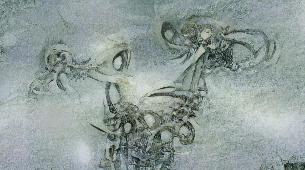 Very Delicate Octopus Skeleton Details